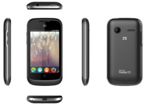ZTE Smartphone powered by firefox