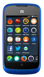 ZTE Smartphone powered by firefox2